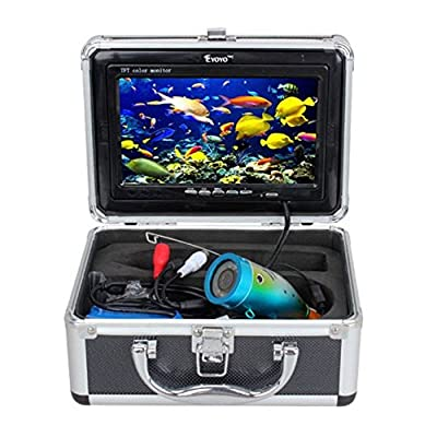 "7"" Color LCD HD Underwater Video Camera System 600TV Lines Fishing Fish Finder by China Oem"