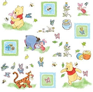 Roommates Winnie the Pooh Toddler Peel & Stick Wall Decals from York Wallcoverings