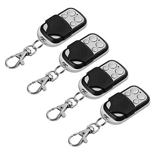 XCSOURCE 4pcs Electric Cloning Universal Gate Garage Door Opener Remote Control Fob 433mhz Replacement Key Fob HS641 (Garage Door Opener Learning compare prices)
