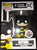 Funko Pop DC Super Heroes Batgirl Black and Yellow Exclusive Vinyl Figure