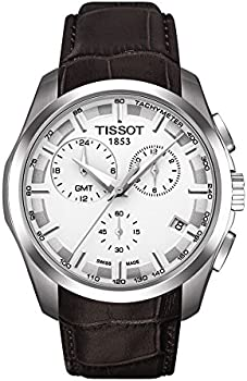 Tissot Couturier GMT White Dial Men's Watch