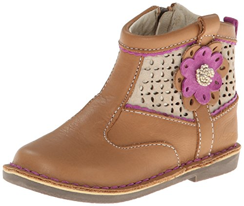 Stride Rite Medallion Collection Baylee Cg Western Boot (Toddler/Little Kid),Tan,8.5 W Us Toddler front-413095