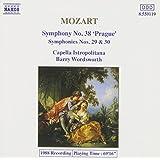 Mozart: Symphonies 29, 30 & 38