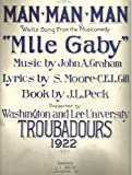 img - for Man - Man - Man (Waltz Song from the Musicomedy Mlle Gaby) book / textbook / text book