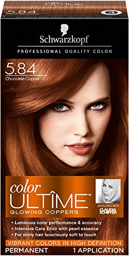 Schwarzkopf Ultime Hair Color Cream, 5.84 Chocolate Copper, 2.03 Ounce (Chocolate Color Hair Dye compare prices)