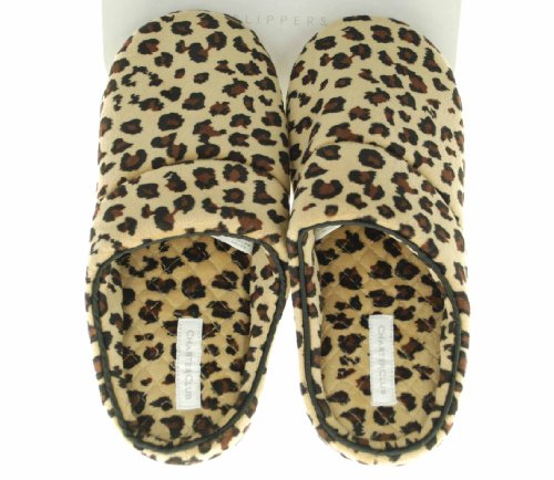 Cheap Charter Club Closed Toe Print Slippers – Women (B004WOIA4I)