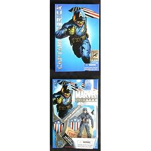 Hasbro 2010 SDCC San Diego ComicCon Exclusive Marvel Universe 3 3/4 Inch Action Figure Ultimate Captain America