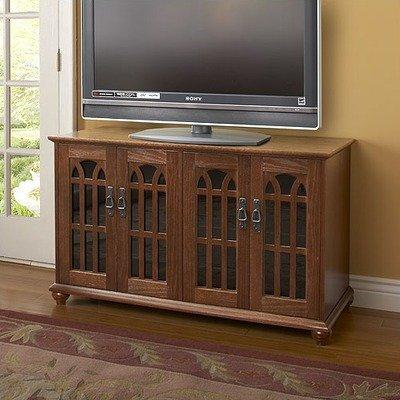 Leslie Dame TVGD-48W Mission Style Flat Panel and Plasma Screen TV Cabinet, Walnut photo B001R4W7C2.jpg