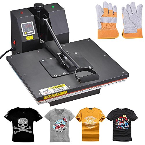 16x20 Large Non-stick surface Heat Press Machine Digital Transfer Sublimation Machine for Clamshell T-shirt (Heat Press Machines 16x20 compare prices)
