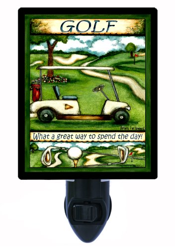 Sports Night Light - What A Great Way To Spend The Day - Golf front-1070791
