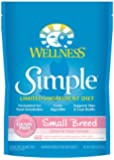 Wellness Simple Limited Ingredient Diet Grain Free Small Breed Salmon & Potato Natural Dry Dog Food, 4.5-Pound Bag
