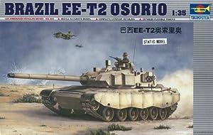 Trumpeter 00333 - Maqueta de tanque Brazil EE-T2 Osorio