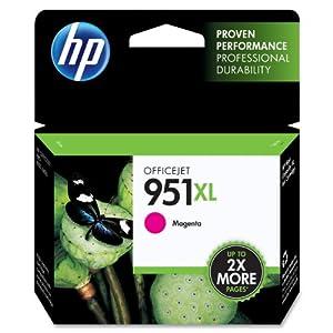 HP 951XL CN047AN#140 Officejet Ink Cartridge-Magenta