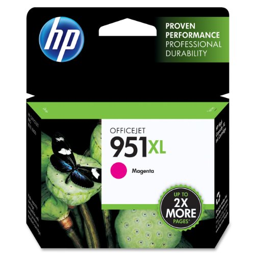 HP 951XL CN047AN#140 Officejet Ink Cartridge-Magenta