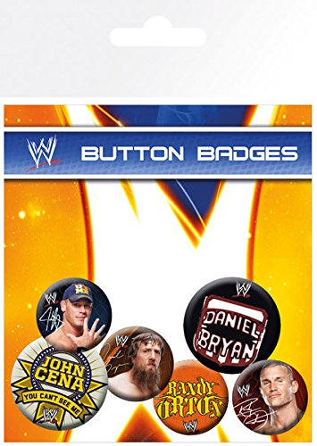 GB eye LTD, WWE, Superstars, Pack de Chapas