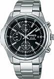 [ワイアード]WIRED 腕時計 ソーラー ハードレックス クロノグラフ 日常生活用強化防水 (10気圧) AGAD040 メンズ
