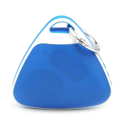 Hi-Rice Sport Bluetooth Wireless Speaker Mini Portable Super Bass For Ipad Iphone 5S Samsung Htc (Blue)