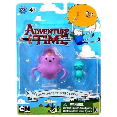 "Adventure Time 3"" Lumpy Space Princess with Brad - 1"