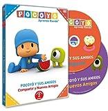 Pack: Pocoyó: Compartir + Nuevos Amigos [DVD] en Español