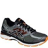 ASICS Men's GT 2000 4 Running Shoe, Carbon/Black/Hot Orange, 10.5 M US