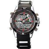Shark Dual LED Digital Armbanduhr SH043
