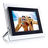 Philips 6.5-Inch Digital Photo Frame (Clear & Black)