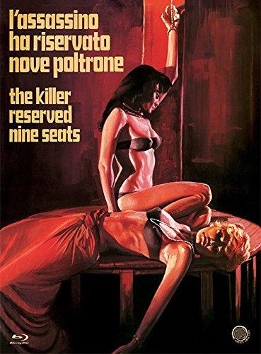 L'assassino ha riservato nove poltrone - Special Edition Import Camera Obscura BLU RAY AUDIO ITALIANO / INGLESE