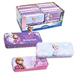 Set of 3 Pieces Disney Frozen Elsa & Anna Tin Pencil Cases Pencil Boxes