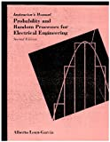 img - for Instructor's Manual and Probability and Random Processes for Electrical Engineering book / textbook / text book