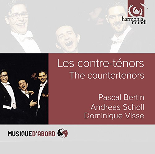 CD : SCHOLL,ANDREAS / BERTIN,PASCAL / VISSE,DOMINIQUE - Countertenors