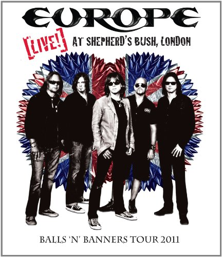 Europe - Live! Shepherd's Bush, London [Blu-ray]