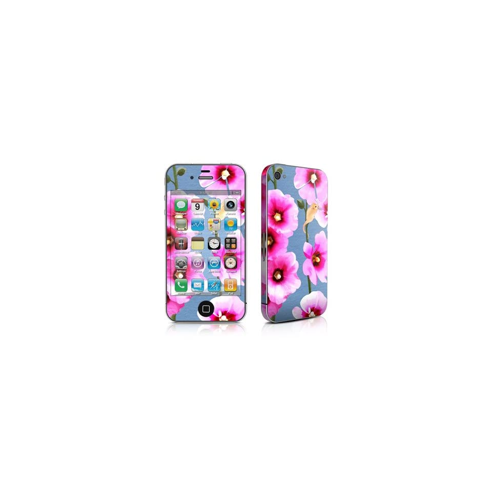 Tasty Pink Bits Design Protective Decal Skin Sticker (High Gloss Coating) for Apple iPhone 4 / 4S 16GB 32GB 64GB