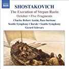 Shostakovich: Execution of Stepan Razin (The) / October / 5 Fragments, Op. 42