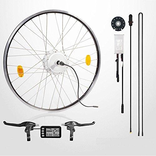 E-Bike-Conversion-Kit-48V-350W-26-Umbausatz-mit-Heckmotor-LCD-Display-max-35kmh-fr-Schraubkrnze-Scheibenbremse-geeignet