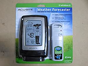 Amazon Com Acu Rite Wireless Weather Forcaster With How