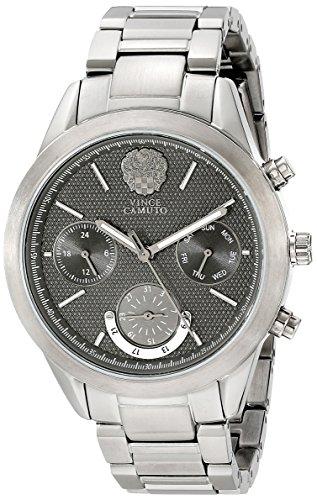Vince Camuto VC/5243GYGY - Reloj para mujeres, correa de acero inoxidable color gris