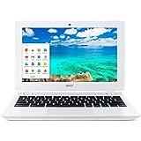 """Acer Chromebook CB3-111-C2P0 11"""" Blanc (Intel Celeron, 2 Go de RAM, SSD 16 Go, Chrome OS)"""