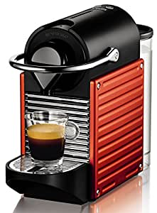 Krups XN 3006 Nespresso Pixie Rouge Electrique Orangé