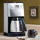 Grind and Brew Thermal 10-Cup Coffeemaker in Brushed Chrome