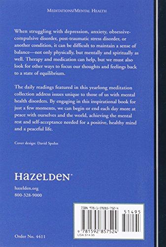 A Restful Mind: Daily Meditations for Enhancing Mental Health (Hazelden Meditations)