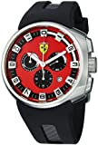 Ferrari F1 Podium Swiss Made Men's Red Dial Chronograph Watch FE-10-ACC-CG/FC-RD