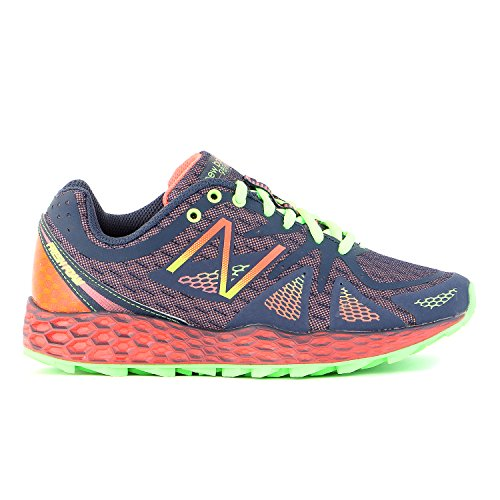 New Balance Women's WT980 Fresh Foam Trail Shoe, Orange/Black, 8.5 B US