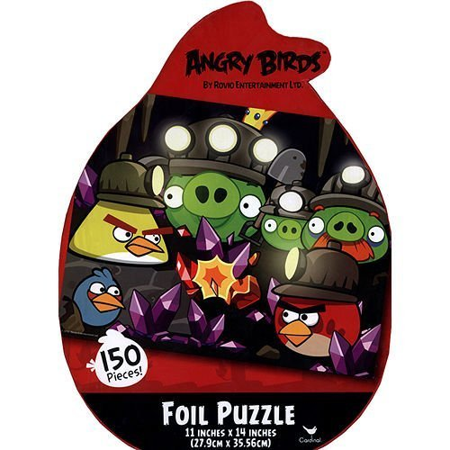 Angry Birds Foil Puzzle - 150 Pieces! By Rovio Entertainment Ltd. - 1