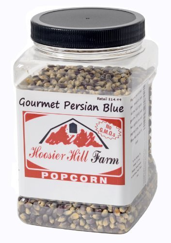 Hoosier Hill Farm Gourmet Persian Blue Popcorn, 3 lb. (Persian Blue Popcorn compare prices)