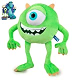 Mike 14'' Michael Wazowski Plush Monsters Inc University Green Monster Eyeball Pixar Disney