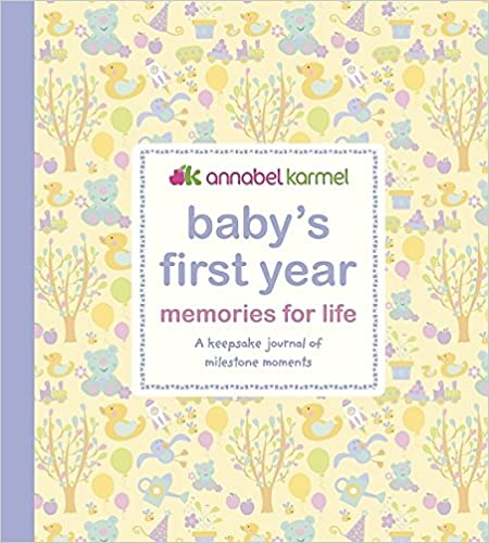 Annabel Karmel Baby Record Book