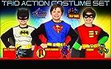Boys Superhero Costume Set