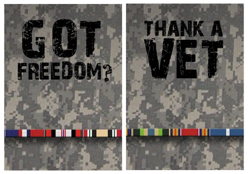 Missing Link SPF 50 Thank A Vet ArmPro Compression Sleeve (Multi Color, X-Large)