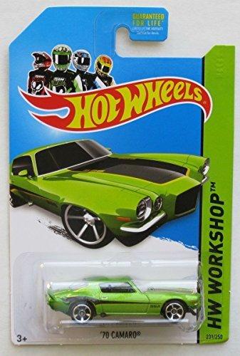 2014 Hot Wheels Hw Workshop '70 Camaro - Green
