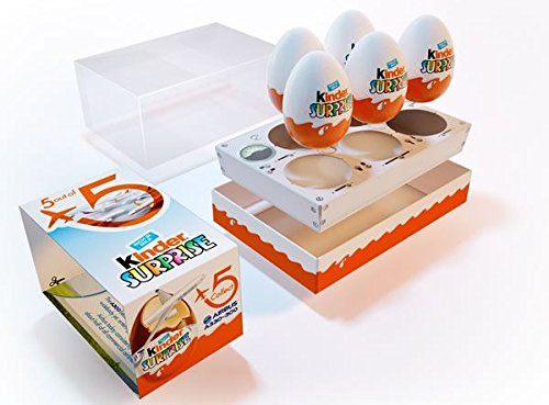 Surprise Chocolate Eggs with New Limited Edition Airbus Gift Packairbus Collection Inside 5 Eggs